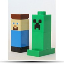 Buy 174 Minecraft Tm Steve And Creeper