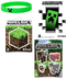 minecraft stickers creeper rubber bracelet stocking
