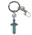 minecraft blue diamond sword keychain makes