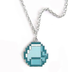 minecraft blue diamond necklace makes great