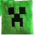 minecraft creeper green pillow cushion inchs