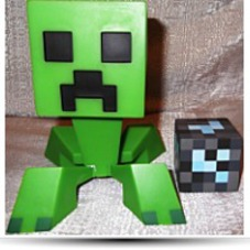 Licensed Collectible Minecraft Creeper