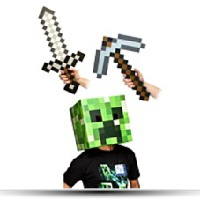 Minecraft 12 Creeper Head