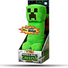 Minecraft Creeper 15 Plush Toy Figure