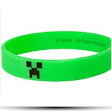 Minecraft Creeper Bracelet Small