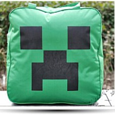 Minecraft Creeper Side Carry Bag Hand