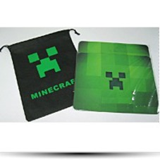 Minecraft Mouse Pad 10 X 8 Inchs W Free