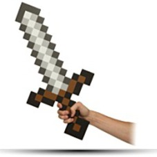 Minecraft Sword Foam Weapon Action Figure