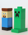 lego minecraft steve creeper official figs