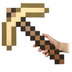 sdcc minecraft foam gold pickaxe official