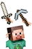 minecraft steve head sword pickaxe costume