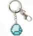 minecraft blue diamond keychain makes great