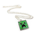 minecraft creeper pendant necklace notorious creep