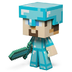 minecraft diamond steve vinyl edition figure