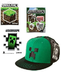 minecraft green creeper premium snap stickers