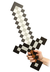 minecraft foam sword stick iron ingots