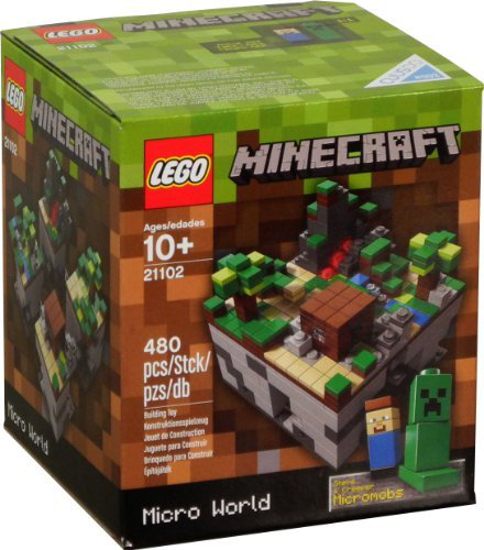 Lego Minecraft 21102 Micro World (480PCS)